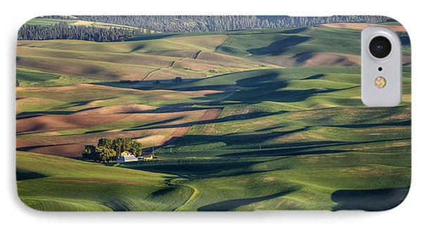 Palouse - Washington - Farms - #2 Phone Case by Nikolyn McDonald