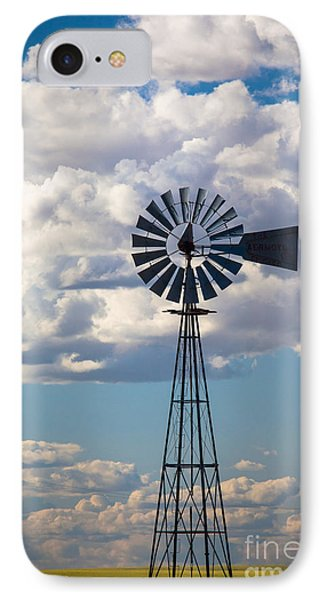 Palouse Windmill IPhone Case by Inge Johnsson