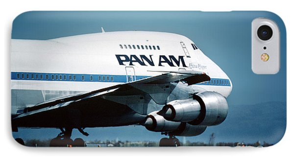 Pan Boeing 747-sp21 N540pa IPhone Case by Wernher Krutein