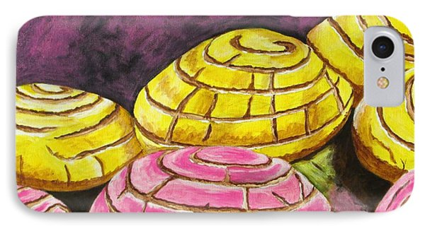 Pan Dulce I IPhone Case by Manny Chapa