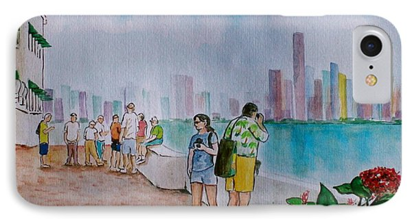 Panama City Panama IPhone Case by Frank Hunter