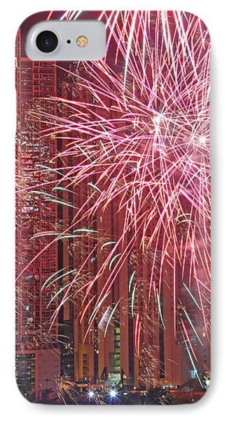 Panama Fireworks Phone Case by Bob Hislop