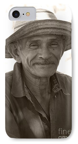 Panamanian Country Man Phone Case by Heiko Koehrer-Wagner