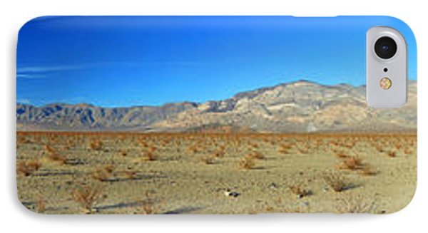Panamint Valley State Route 190 Panorama November 16 2014 IPhone Case