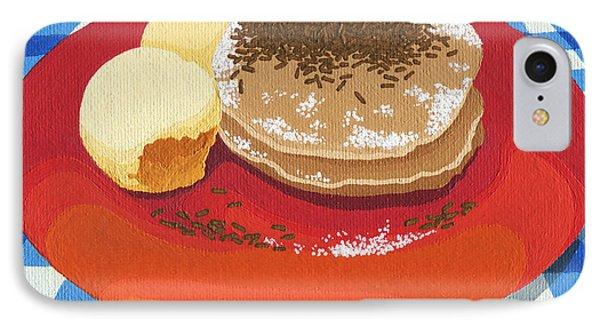 Pancakes Week 15 IPhone Case by Meg Shearer