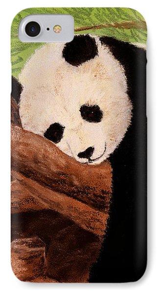 Panda Phone Case by Anastasiya Malakhova