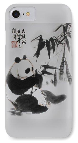 Panda And Bamboo IPhone Case