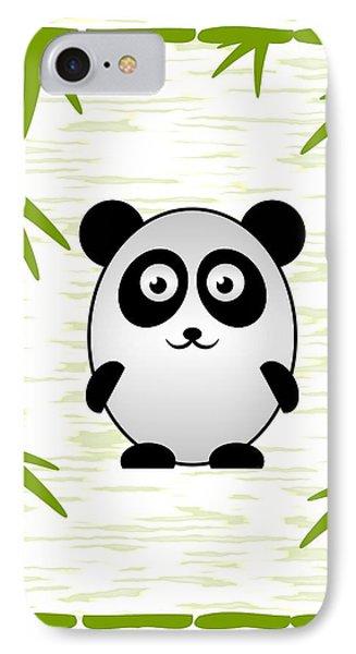 Panda - Animals - Art For Kids IPhone Case by Anastasiya Malakhova