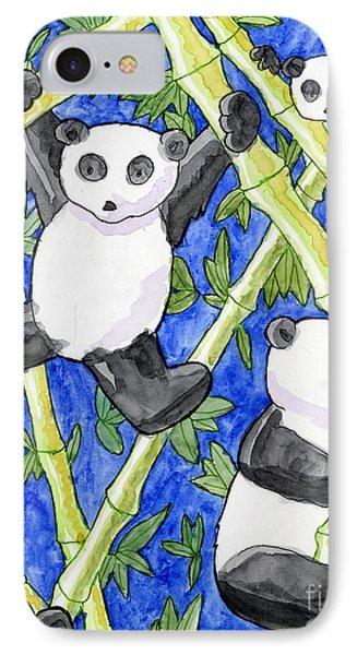 Panda Cubs IPhone Case