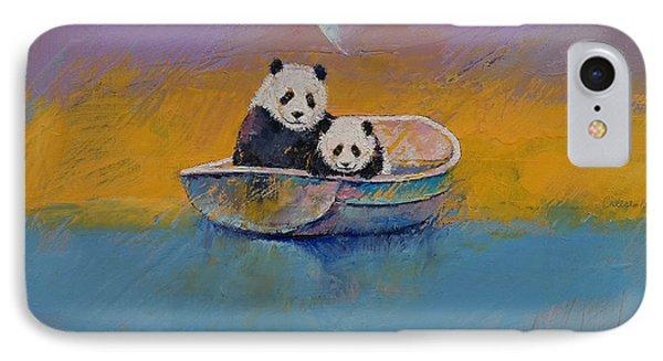 Panda Lake IPhone Case by Michael Creese