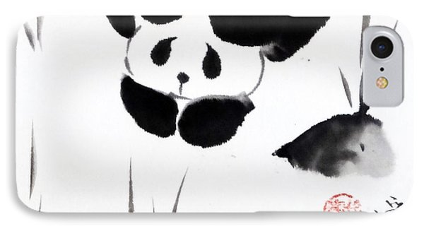 Panda Time Phone Case by Oiyee At Oystudio