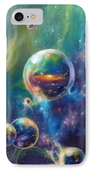Pangaea Cropped Phone Case by Kd Neeley