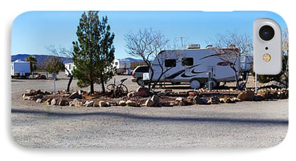 Panorama Cedar Cove Rv Park Street 2 Phone Case by Roena King