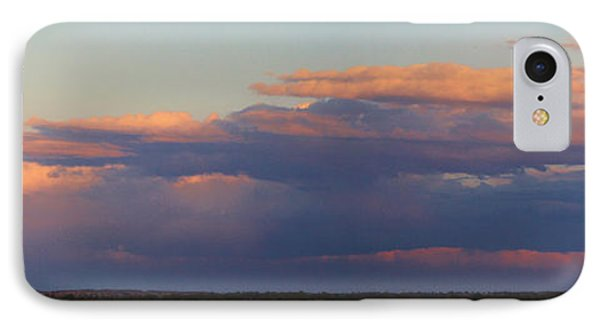 Panorama Colors In The Clouds Phone Case by Roena King