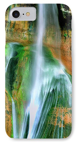 IPhone Case featuring the photograph Panorama Lower Calf Creek Falls Escalante Nm Utah by Dave Welling