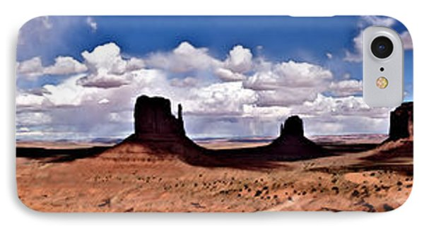Panorama - Monument Valley Park IPhone Case