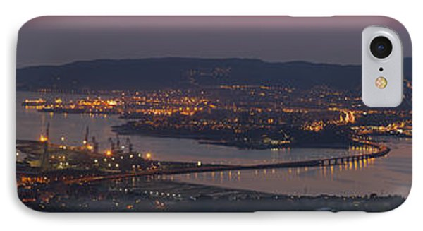 IPhone Case featuring the photograph Panorama Of Ferrol From Mount Marraxon Galicia Spain by Pablo Avanzini