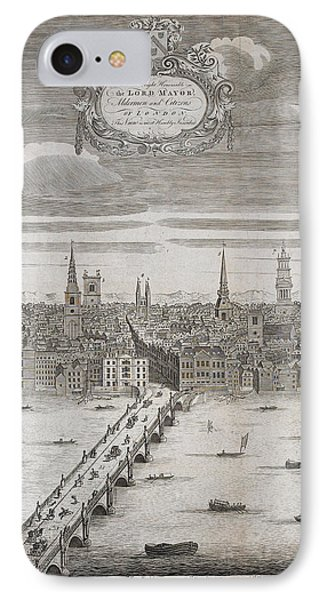 Panorama Of London IPhone Case