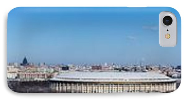 Panorama Of Moscow From Sparrow Hills - Featured 3 Phone Case by Alexander Senin