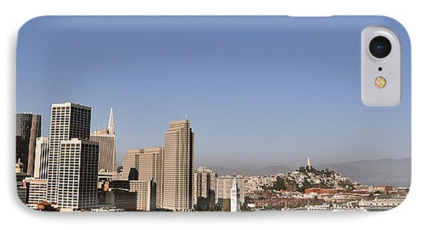 IPhone Case featuring the photograph Panorama Of San Francisco by Debby Pueschel