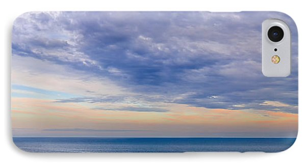 Panorama Of Sky Over Water IPhone Case
