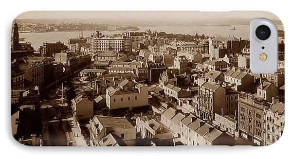 Panorama Of Sydney Australia IPhone Case by The Keasbury-Gordon Photograph Archive