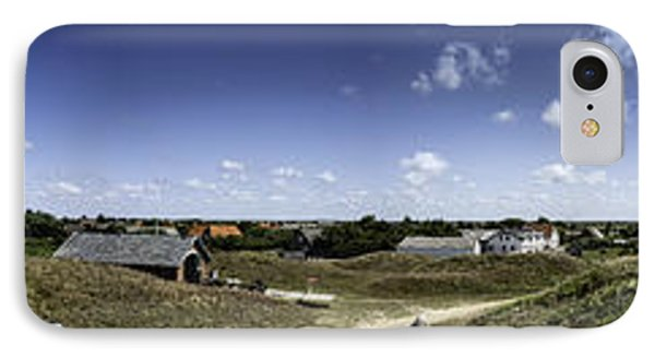 Panorama Of The Island Mando Denmark IPhone Case by Frank Bach