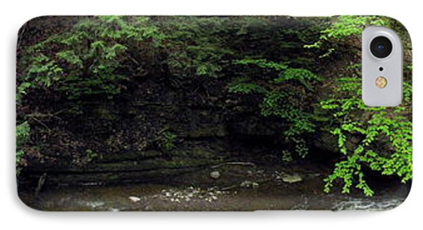 Panorama Of Wolf Creek At Letchworth State Park Phone Case by Rose Santuci-Sofranko