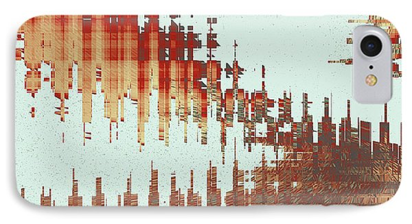 Panoramic City Reflection Phone Case by Ben and Raisa Gertsberg