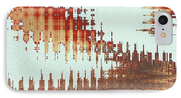 Panoramic City Reflection IPhone Case by Ben and Raisa Gertsberg
