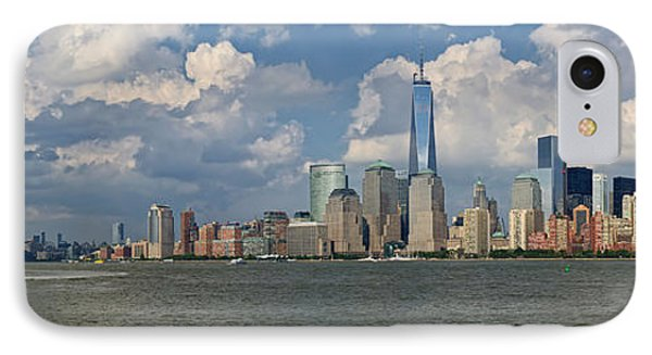 Panoramic Of New York City IPhone Case