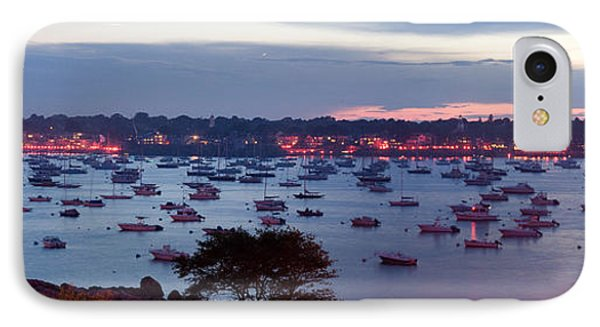 Panoramic Of The Marblehead Illumination Phone Case by Jeff Folger