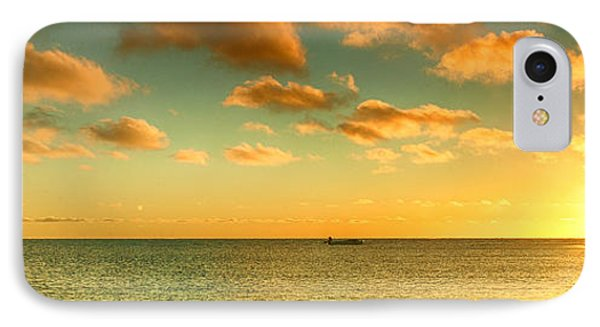 Panoramic Photo Sunrise At Monky Mia IPhone Case by Yew Kwang