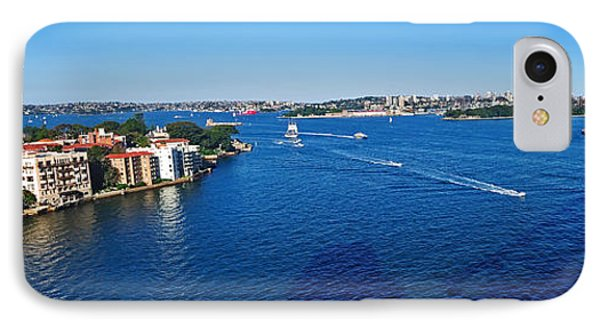 Panoramic Sydney Harbour Phone Case by Kaye Menner