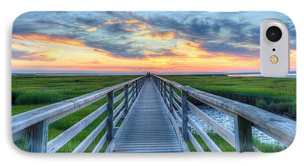 Panoramic View Bass Hole Boardwalk IPhone Case