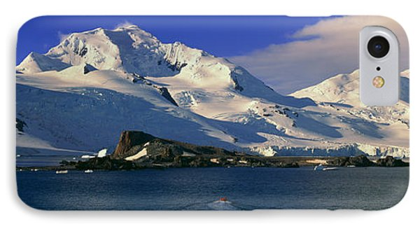 Panoramic View Of Ecological Tourists IPhone Case