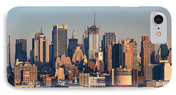 Panoramic View Of Empire State Building IPhone Case by Panoramic Images