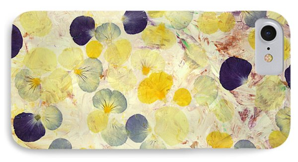 Pansy Petals IPhone Case