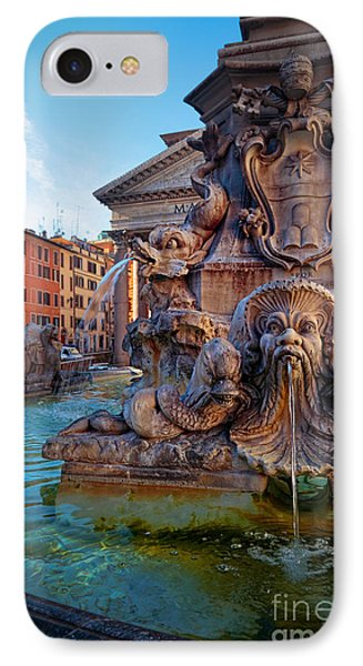 Pantheon Fountain IPhone Case