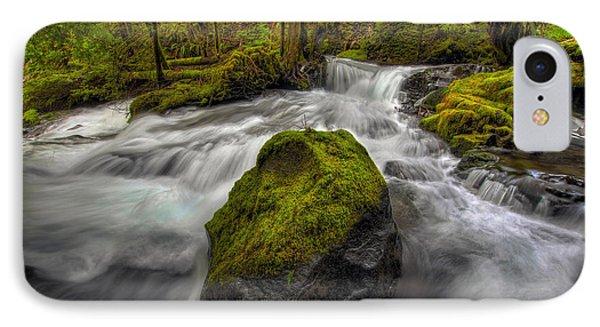 Panther Creek Falls Phone Case by David Gn
