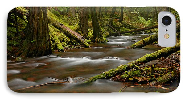 IPhone Case featuring the photograph Panther Creek Landscape by Nick  Boren