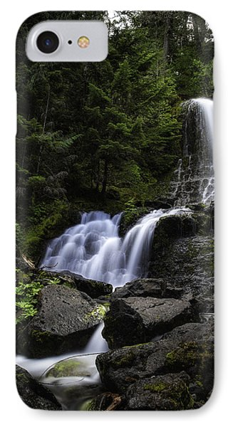 Panther Falls IPhone Case by James Heckt