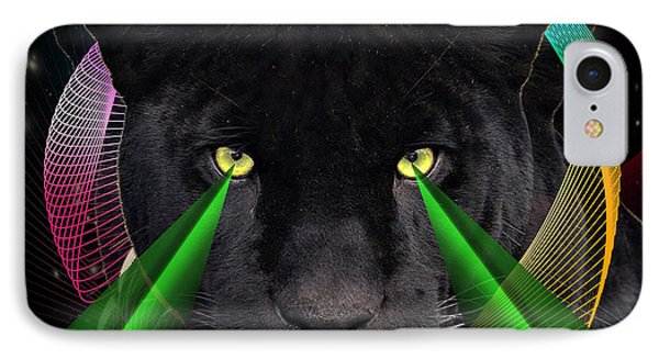 Panther Phone Case by Mark Ashkenazi
