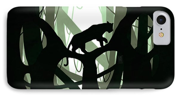 Panther Paw IPhone Case by Daniel Hapi