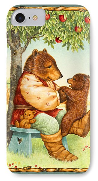 Papa Bear IPhone Case by Lynn Bywaters