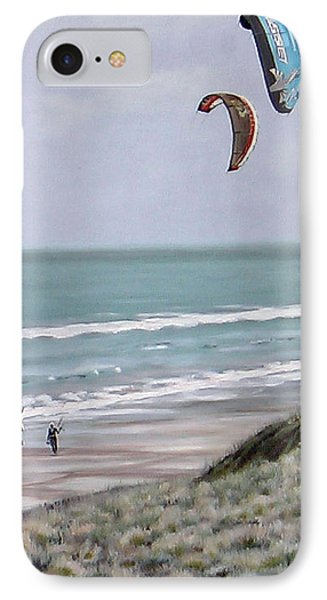 Papamoa Beach 090208 IPhone Case by Sylvia Kula