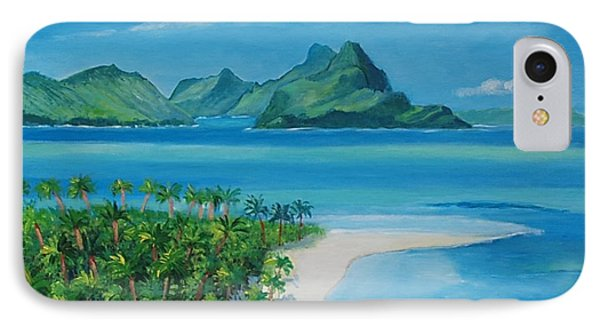 Papeete Bay In Tahiti IPhone Case
