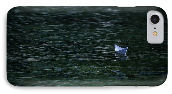 Paper Boat IPhone Case by Joana Kruse