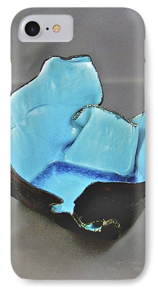 IPhone Case featuring the sculpture Paper-thin Bowl  09-001 by Mario Perron