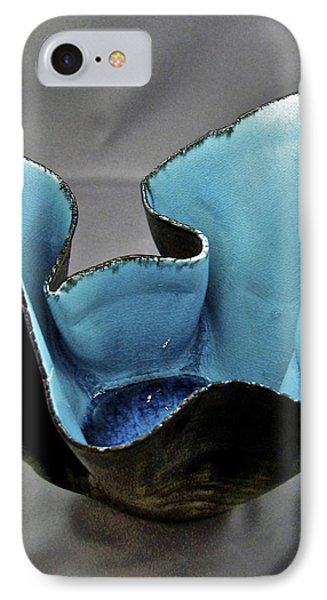 IPhone Case featuring the sculpture Paper-thin Bowl  09-003 by Mario Perron